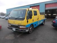 MITSUBISHI CANTER 6.3T CREWCAB SPEC LIFT ONLY 67K FROM NEW