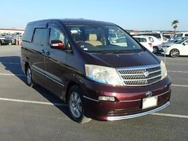 TOYOTA ALPHARD 3.0 MX LTD EDITION 6/2004 8 SEATS HIGH GRADE IN UK 44,000 MILES