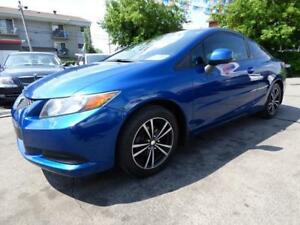 2012 HONDA CIVIC COUPE LX (AUTOMATIQUE, 66,000 KM, BT, FULL!!!)