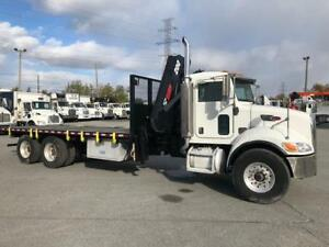Peterbilt 335 2007 - Grue Hiab 200C-5 - Automatique