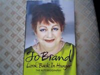 "JO BRAND AUTOBIOGRAPHY ""LOOK BACK IN HUNGER"" - NEW/UNREAD"