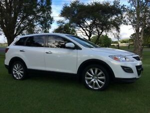 2009 Mazda CX-9 09 Upgrade Luxury White 6 Speed Auto Activematic Wagon Tuggerah Wyong Area Preview