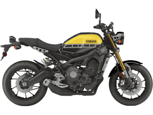 YAMAHA XSR 900 SPECIAL 60TH ANNIV. LIGHT REDDISH YELLOW 2016