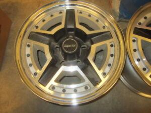 Vintage GM Dodge Chevrolet Ford NOS Wheels NEW never mount $250.
