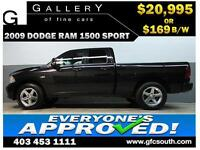 2009 DODGE RAM SPORT CREW *EVERYONE APPROVED* $0 DOWN $169/BW