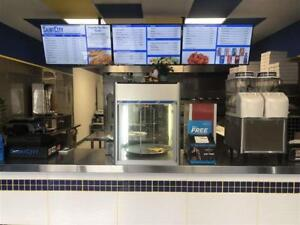 St.Albert Pizza Shop for sale. Huge opportunity to grow.