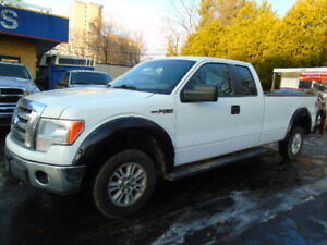 2011 Ford F-150 4x4 5.0 V8 XLT Pickup Truck extended 8 FOOT BOX
