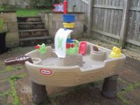 Little Tikes Anchors Away Pirate Ship Water / Sand Playset