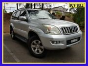 2004 Toyota Landcruiser Prado GRJ120R GXL Silver Automatic Wagon Lansvale Liverpool Area Preview
