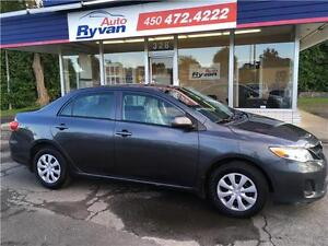 2011 Toyota Corolla CE A/C PORTES ET MIRRORS ELECT 118,000KM