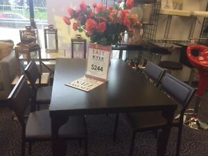 CLEARANCE! 5pc Indoor Dining Set - LAST ONE!!!