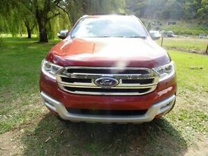 2015 Ford Everest UA Titanium Sunset Red 6 Speed Sports Automatic Wagon Mount Barker Mount Barker Area Preview