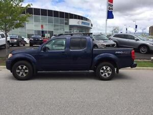 2010 FRONTIER 4WD,Crew Cab,PRO-4X, V6. FULLY LOADED, WARRANTY