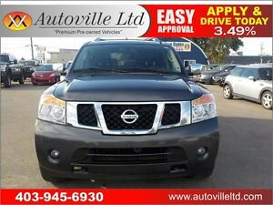 2011 Nissan Armada Platinum navi dvd roof b camEVERYONE APPROVED