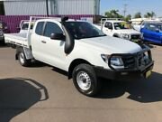 2014 Ford Ranger PX XL 3.2 (4x4) White 6 Speed Manual Super Cab Chassis Dubbo Dubbo Area Preview