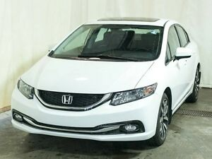 2015 Honda Civic Touring Sedan w/ Extended Warranty, Navigation,