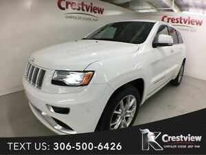 2015 Jeep Grand Cherokee Summit V6 w/ Leather, Sunroof, Navigati