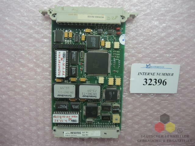Control card, Part No. 9626468, RK 100, Boy-Code A1E, Dr. Boy spares