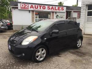 2007 Toyota Yaris RS/Super Gas Saver/Accident Free/Certified