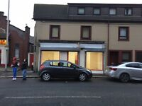Double window front for shop for Rent Paisley Neilston Rd Avail Now
