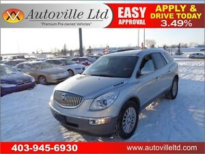 2010 Buick Enclave CXL Leather Heated seats  BCam 90DaysNoPmnt