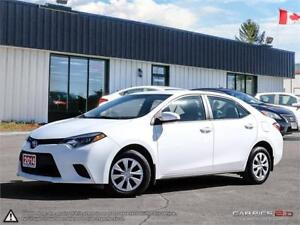 2014 Toyota Corolla CE,ONE OWNER,ACCIDENT FREE,B.TOOTH
