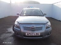 TOYOTA AVENSIS 2007 2.0 D4D BREAKING FOR SPARES TEL 07814971951 WE HAVE FEW IN STOCK PLEASE CALL