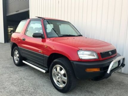 1994 Toyota RAV4 SXA10R Red 4 Speed Automatic Hardtop