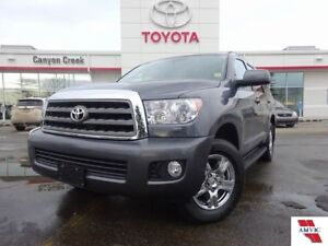 2017 Toyota SEQUOIA SR5 8 PASS/ TOYOTA CERTIFIED/ DLR HISTORY