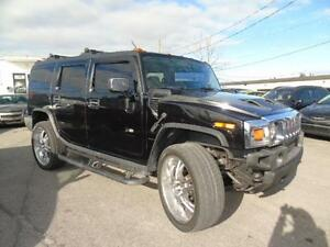 2003 HUMMER H2 6 PASNGER AUTO,AIR ROOF