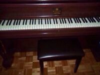 Piano Willis upright grand