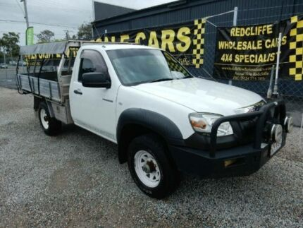 2006 Mazda BT-50 UNY0E3 DX White 5 Speed Manual Cab Chassis