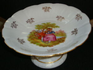 LEC Leclair Limage France Candy dish  AND  jewelry trinket dish