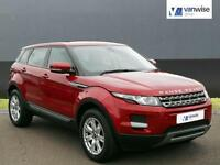 2013 Land Rover Range Rover Evoque ED4 PURE Diesel red Manual