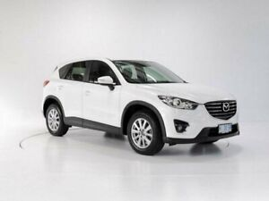 2016 Mazda CX-5 MY15 Maxx Sport (4x4) Crystal White Pearl 6 Speed Automatic Wagon Devonport Devonport Area Preview