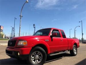 2009 Ford Ranger Sport 4X4 = AUTOMATIC - LOADED = SUPER CAB