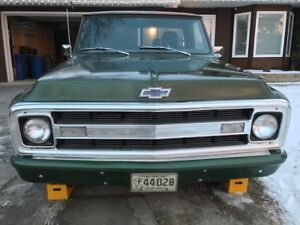 1970 Chevrolet C-10 Ratrod or Restomod farm find