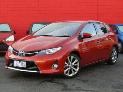 2015 Toyota Corolla ZRE182R Levin S-CVT ZR Orange 7 Speed Constant Variable Hatchback Camberwell Boroondara Area Preview