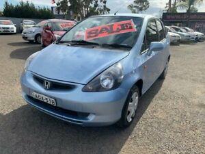 2004 Honda Jazz GLi Blue Continuous Variable Hatchback Cabramatta Fairfield Area Preview
