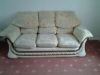 Settee and Chair FREE to whoever can collect need gone a.s.a.p.