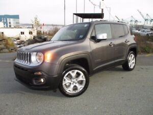 2017 Jeep RENEGADE LIMITED (JUST REDUCED TO $30777!!! 4X4, LEATH