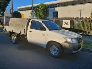 2013 Toyota Hilux TGN16R MY14 Workmate Automatic Cab Chassis Lidcombe Auburn Area Preview