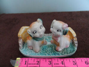 Vintage Dog S&P Shakers
