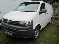 Volkswagen Transporter 2.0 Tdi 102Ps Van DIESEL MANUAL WHITE (2013)