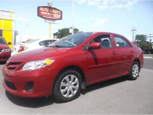 2012 TOYOTA COROLLA 76000KM, AIR CLIMATISE $7995