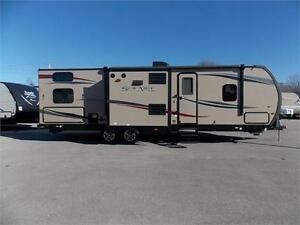 2014 PALOMINO SOLAIRE 269BHDSK TRAVEL TRAILER