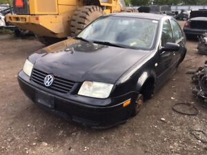 2002 VW Jetta just in for parts at Pic N Save!