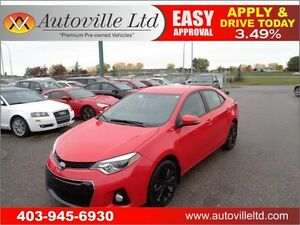 2015 Toyota Corolla Sport Auto Remote Start- Everyone Approved