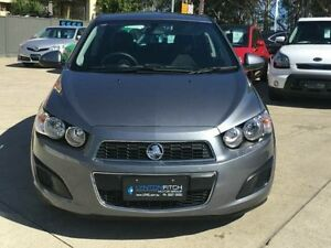 2015 Holden Barina TM MY15 CD Grey 6 Speed Automatic Hatchback Southport Gold Coast City Preview