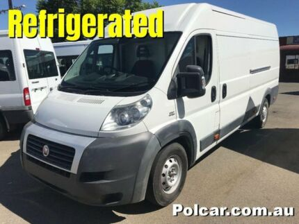 2013 Fiat Ducato REFRIGERATED ELWB Refrigerated White Automatic